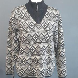 Vtg 80s DEMETRE sweater size large
